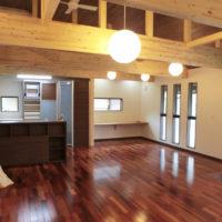 開放感あふれる平屋×和モダンの家(笠岡市)