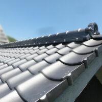 瓦屋根の葺き替え リフォーム(笠岡市)