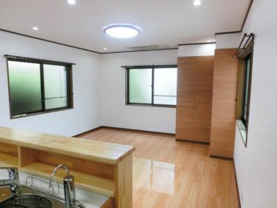 床暖房でぽかぽかリノベーション(笠岡市)