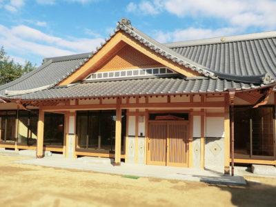 丘の上に建つ本格和風平屋住宅(笠岡市)