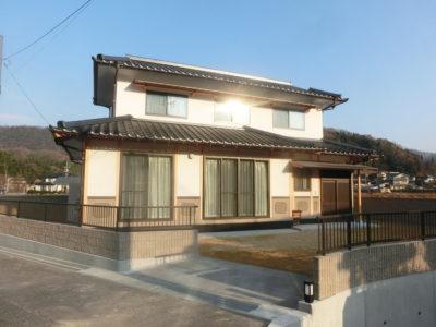 土壁×小舞 素材を活かした和の家(笠岡市)
