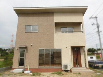 ツートンカラーの暖かい家(浅口郡)