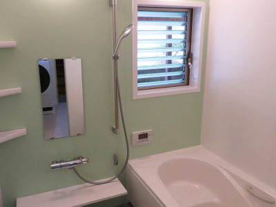 浴室・洗面所 リフォーム(笠岡市)