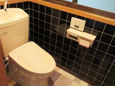 汲取式から水洗トイレにリフォーム(小田郡)