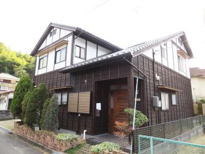 焼板+漆喰 外壁リフォーム(笠岡市)